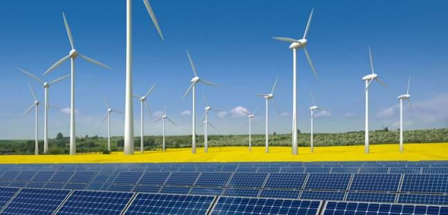 Strom aus erneuerbaren Energiequellen
